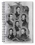 War Of 1812: Generals Spiral Notebook