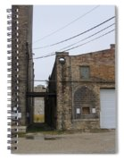 Warehouse Beams And Drain Pipe Spiral Notebook
