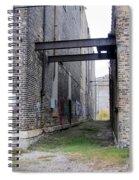 Warehouse Beams And Grafitti Spiral Notebook