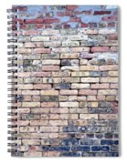 Warehouse Brick Wall Spiral Notebook