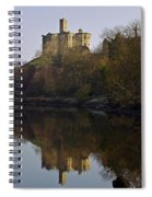 Warkworth Castle Spiral Notebook