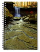 Warm Sky Cool Water Spiral Notebook