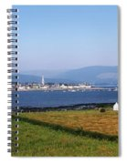 Warrenpoint From Carlingford, Co. Down Spiral Notebook