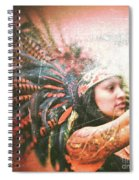 Warrior Dance Spiral Notebook