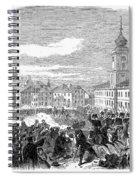 Warsaw: Civil Disturbance Spiral Notebook