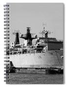 Warship Hms Bulwark Spiral Notebook