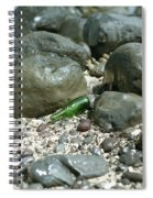 Washed Ashore In Hawaii Spiral Notebook