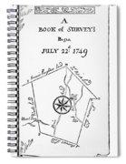 Washington: Book Of Surveys Spiral Notebook