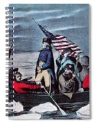 Washington Crossing The Delaware, 1776 Spiral Notebook