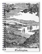 Washington, D.c., 1840 Spiral Notebook
