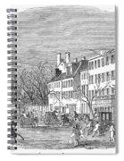 Washington, D.c., 1853 Spiral Notebook