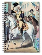 Washington Enters New York City After Spiral Notebook
