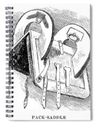 Washington: Saddle Spiral Notebook
