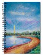 Washington Sky Spiral Notebook