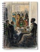 Washington: Voting, 1867 Spiral Notebook