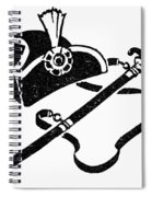 Washingtons Birthday Spiral Notebook