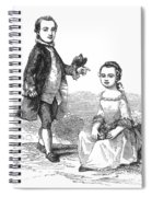 Washingtons Stepchildren Spiral Notebook