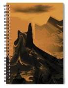 Wastelands Spiral Notebook