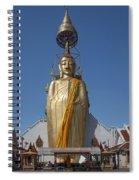 Wat Intarawiharn Phra Luang Phor Toh Standing Buddha Dthb294 Spiral Notebook