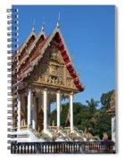 Wat Kan Luang Ubosot Dthu179 Spiral Notebook