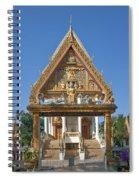 Wat Kan Luang Ubosot Gate Dthu181 Spiral Notebook