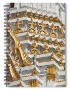 Wat Phitchaya Yatikaram Central Prang Dthb1191 Spiral Notebook