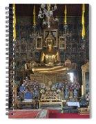 Wat Ratcha Orasaram Ubosot Interior Dthb859 Spiral Notebook