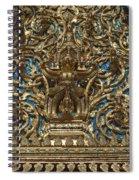 Wat Saket Ubosot Gable Dthb035 Spiral Notebook