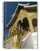 Wat Sen Naga Heads Spiral Notebook