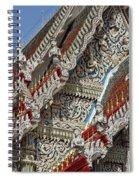 Wat Suan Phlu Ubosot Angel Gable Finials Dthb227 Spiral Notebook