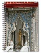 Wat Suan Phlu Ubosot East Portico Dthb1133 Spiral Notebook