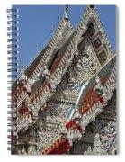 Wat Suan Phlu Ubosot Gable Dthb1132 Spiral Notebook