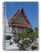 Wat Thong Nopphakhun Ubosot Dthb1169 Spiral Notebook