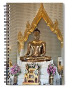 Wat Traimit Golden Buddha Dthb964 Spiral Notebook