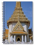 Wat Traimit Phra Maha Mondop Of The Golden Buddha Dthb1100 Spiral Notebook