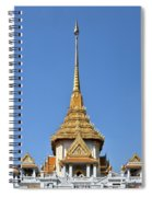 Wat Traimit Phra Maha Mondop Of The Golden Buddha Dthb956 Spiral Notebook