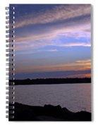 Watchin The Sun Set Spiral Notebook