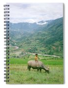 Water Buffalo Boy Spiral Notebook