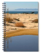 Water By The Ocean Spiral Notebook