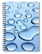Water Drops Spiral Notebook