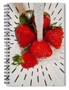 Water For Strawberries Spiral Notebook