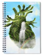 Water From The Heart Spiral Notebook