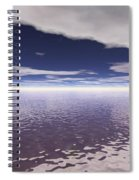 Water Horizon Spiral Notebook