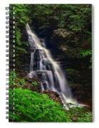 Water In Motion Spiral Notebook