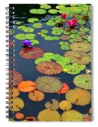 Water Lilies I Spiral Notebook