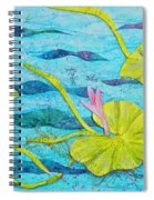 Water Lilies Panorama Spiral Notebook