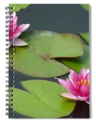 Water Lillies Spiral Notebook