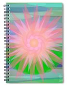 Water Lily 2012 Spiral Notebook