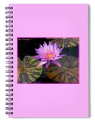 Water Lily Magic Spiral Notebook