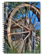 Water Mill Spiral Notebook